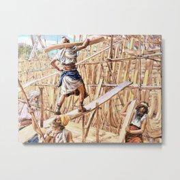 Building the Ark - Digital Remastered Edition Metal Print