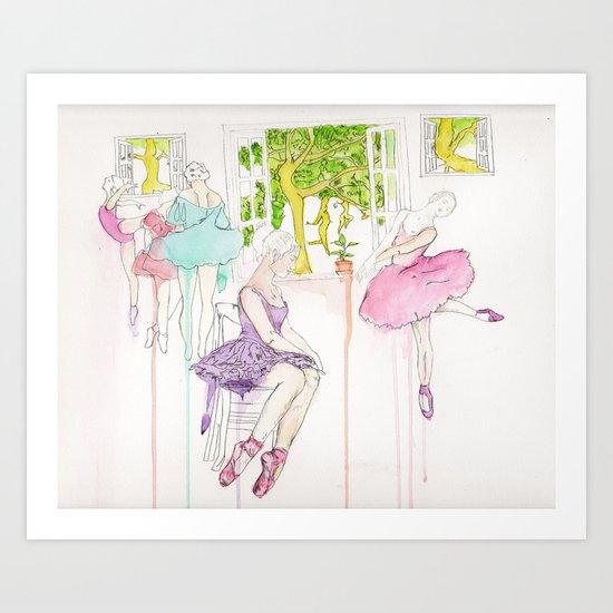 The Dancing tree  Art Print