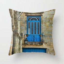 Cuba architecture Throw Pillow