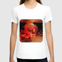 dancer T-shirts featuring Dancer  by Ethna Gillespie