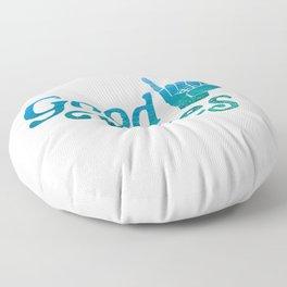 Good Vibes Shaka Floor Pillow