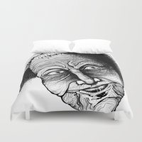 mother Duvet Covers featuring noodles by Cifertherhyme