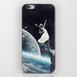 leap of faith iPhone Skin