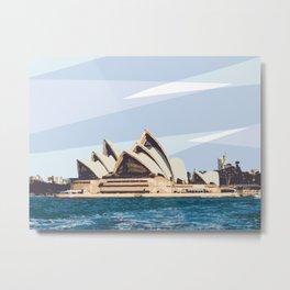 Sydney Opera House Australia Metal Print
