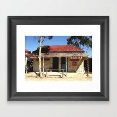 Old Tailem Bend - Australia. Framed Art Print