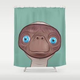 Entranced ET Shower Curtain
