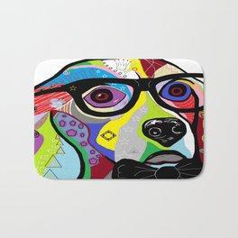 Sophisticated Beagle Bath Mat
