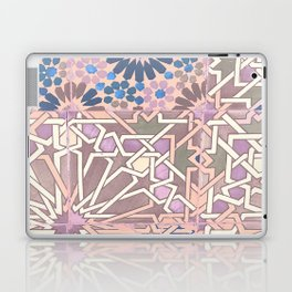 Pink moroccan pattern Laptop & iPad Skin
