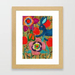 You Don't Have To Go Home, You Can Stay Here Framed Art Print