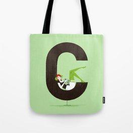 Carla & Din Tote Bag