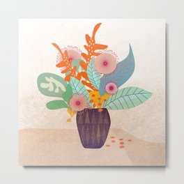 Tropic In A Pot #society6 #buyart #decor Metal Print