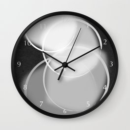 Colorblind Opal Wall Clock