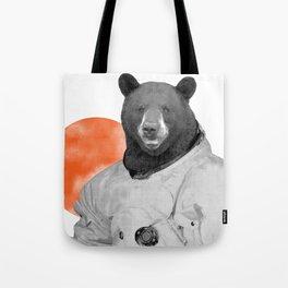 Mr. Space Bear Tote Bag