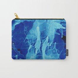 Microcosmos Azul Carry-All Pouch