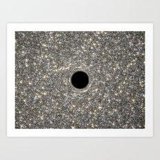 Black Hole Hubble Photograph Art Print