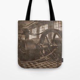 Steam Engine - Sepia Tote Bag