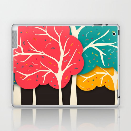 Happy Forest Laptop & iPad Skin