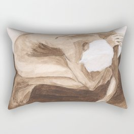 """""""Time and Death and God"""" [Series Part 2] Rectangular Pillow"""