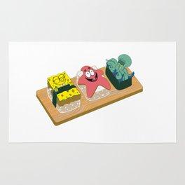 Spongebob Sushi Rug
