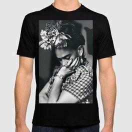 Frida Kahlo Historical Photography T-shirt