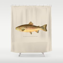 The Rainbow Trout Shower Curtain