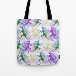 Watercolor women runner pattern Tote Bag