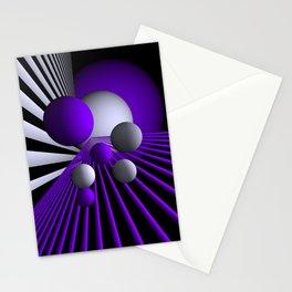 go violet -17- Stationery Cards