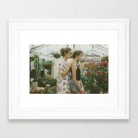 jasmine Framed Art Prints featuring Jasmine by Mariam Sitchinava