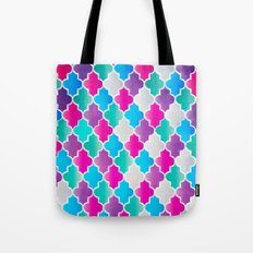 Geo-Colour Tote Bag