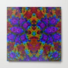 Candy 2 Heatmap Metal Print