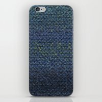 knit iPhone & iPod Skins featuring Knit  by SarahKdesigns