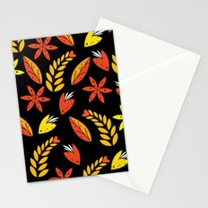 Autumn flowers 1 Stationery Cards