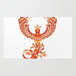 Mythical Phoenix Bird Rug