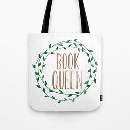 Book Queen Tote Bag