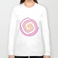 neon Long Sleeve T-shirts featuring Neon by Jeff Merrick