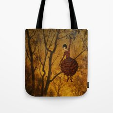 Pine Girl Tote Bag