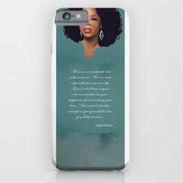 Oprah Winfrey Quote iPhone Case