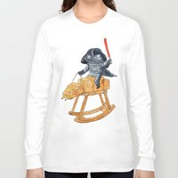 darth vader Long Sleeve T-shirts featuring Darth Vader by gunberk