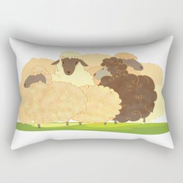 There is always a black sheep Rectangular Pillow