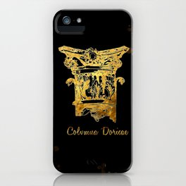 COLUMNA DORICAE  ART iPhone Case
