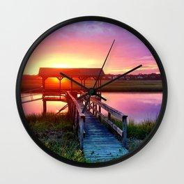 Litchfield Sunset Wall Clock