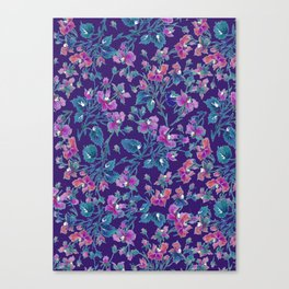 sophia roses by the sea Canvas Print