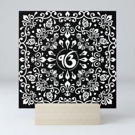 Ek Onkar / Ik Onkar Black and white #3Ek Onkar / Ik Onkar Black and white #3 Mini Art Print