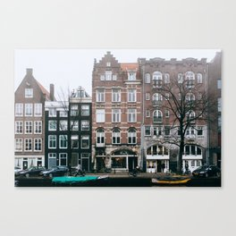 Centrum - Amsterdam, The Netherlands - #6 Canvas Print
