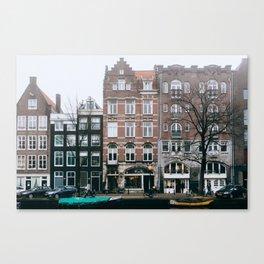 Centrum - Amsterdam, The Netherlands - #6 Canvas Print