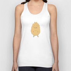 Thinking Capybara Unisex Tank Top