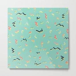Playful Scribbles #society6 #decor #buyart Metal Print