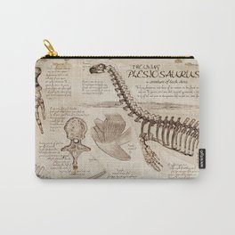 """Loch Ness Monster: """"The Living Plesiosaurus"""" - The lost notebook account Carry-All Pouch"""