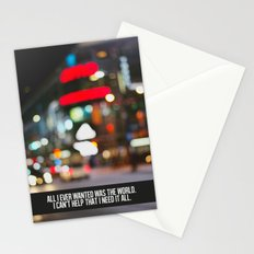 marina + the diamonds - world. Stationery Cards
