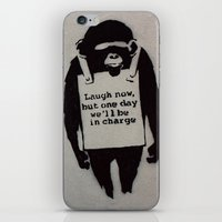 banksy iPhone & iPod Skins featuring Banksy  by Ashley Griswold Photography